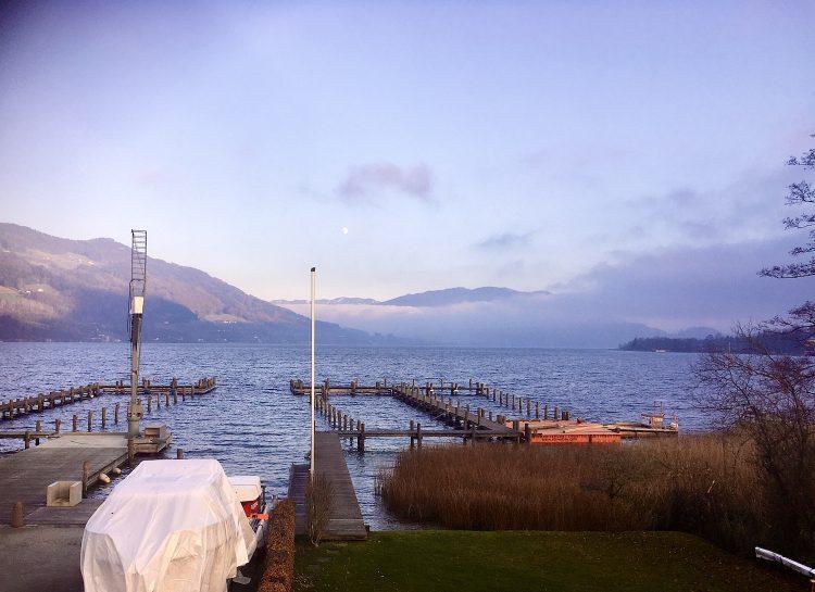 Segelclub im winter